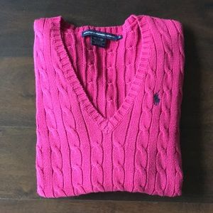 🆕✨Ralph Lauren Sport V Neck Sweater